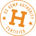 US Hemp Authority Certified Free CBD Oil Samples Badge
